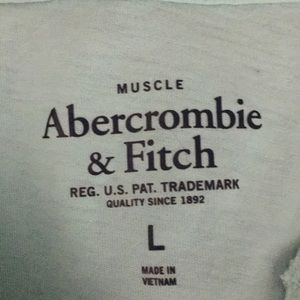 Abercrombie & Fitch Shirts - Abercrombie & Fitch Muscle Tee